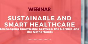 Sustainable and smart healthcare event banner